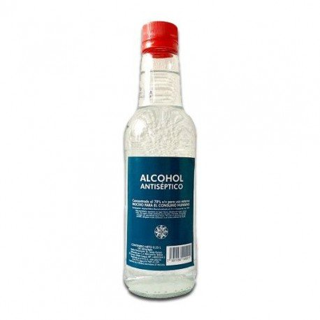 ALCOHOL ANTISPETICO 70% 0,70L