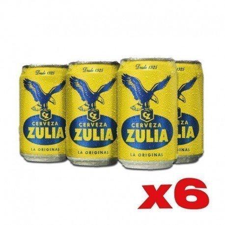 CERVEZA ZULIA x 6und LATA...