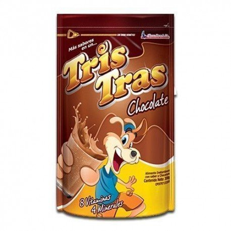 TRIS TRAS CHOCOLATE 300G