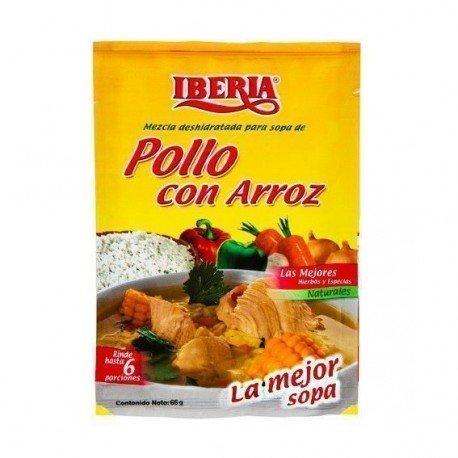 SOPA POLLO CON ARROZ IBERIA...
