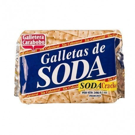 GALLETAS DE SODA CARABOBO 240G