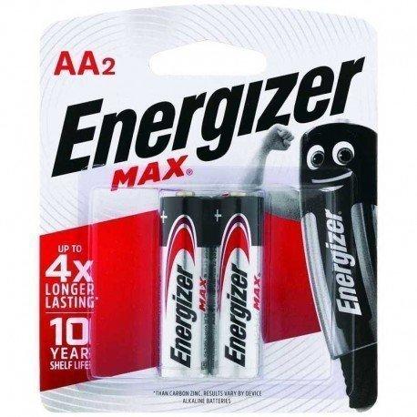 PILAS AA 2UND ENERGIZER MAX