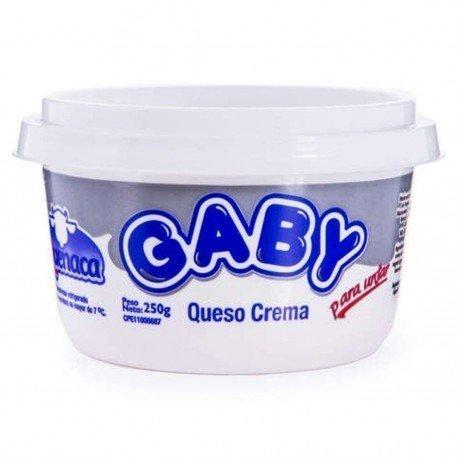 QUESO CREMA GABY 250G