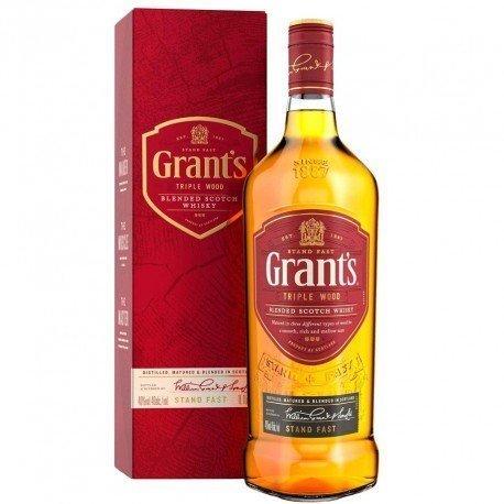 WHISKY GRANT'S TRIPLE WOOD...