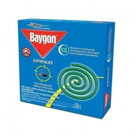 BAYGON ESPIRALES 12 UND