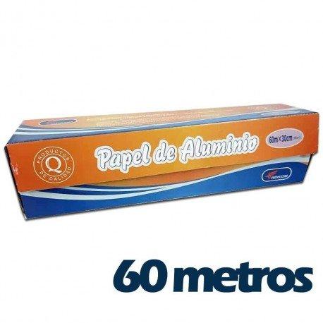 PAPEL ALUMINIO 60M FEDECOM