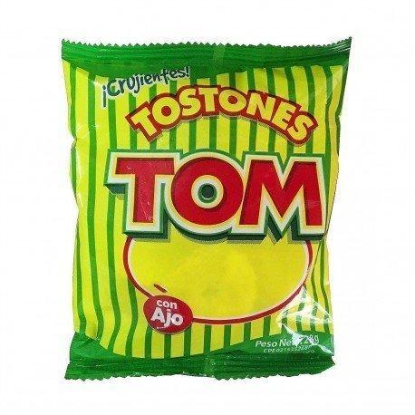 TOSTONES TOM CON AJO 28G
