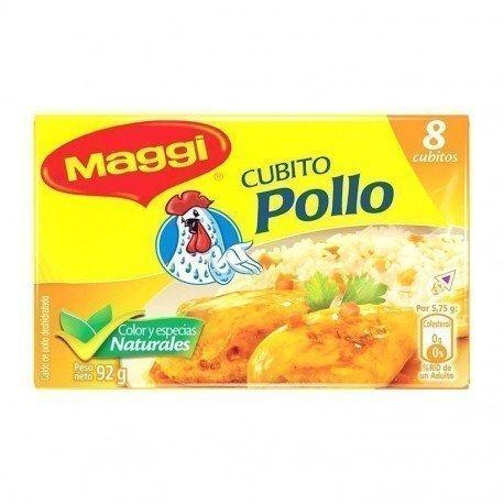 CUBITO POLLOS 8UND MAGGI 92GR